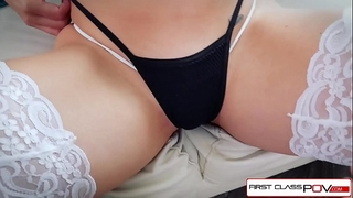 First class pov - see nikki knightly suking and fucking a large schlong