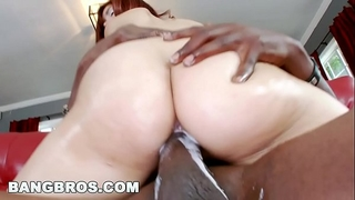 Bangbros - leah cortez creams all over lexington steele's monster weenie!