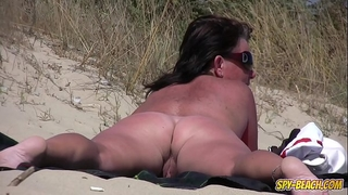 Amateur nudist voyeur chunky milf close-up episode