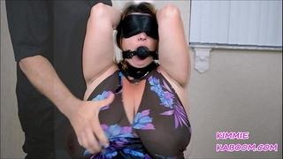 Kimmie kaboom boob & nipp torment
