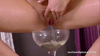 Wetandpissy - extremely sexy pissing from ideal czech slutty wife