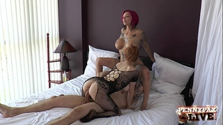 Bts threesome anna belle peaks, penny pax & alex legend part three