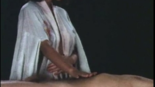 1970s vintage chinese horny white wife, massage & fuck