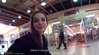 Mallcuties - reality legal age teenager screwed for raiment - public reality